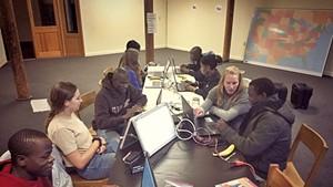 Technology 4 Tomorrow class at Winooski's Champlain Mill
