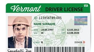 Hypothetical Pastafarian license