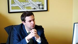 Senate President Pro Tempore Tim Ashe (D-Chittenden)