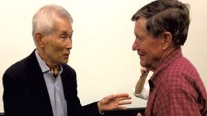 Yasuaki Yamashita and Henry Coe