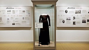 Exhibition image at the Rokeby Museum