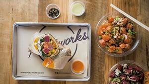 Burrito and grain bowls at Pokéworks
