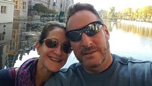 Kim Kaufman and Jimmy Goldsmith