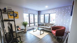 Duncan Persons' apartment at 194 St. Paul Street in Burlington