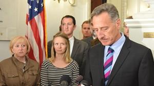 Gov. Peter Shumlin announces he won't seek reelection.