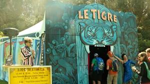 The Le Tigre tent