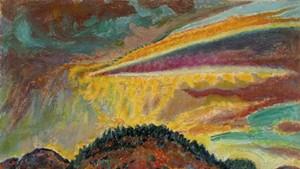 """Sunset Over Baxter Mountain"""