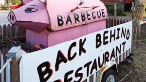 Pig Out on Barbecue at Killington's Back Behind Restaurant