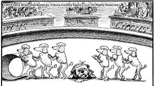 Cartoon collaboration of Harry Bliss and Steve Martin