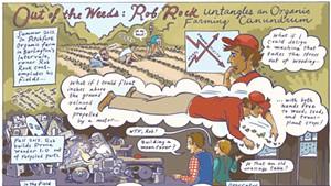 Rob Rock Invents a Prone Weeder