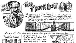 Clark Derbes' Truck Lot Gallery