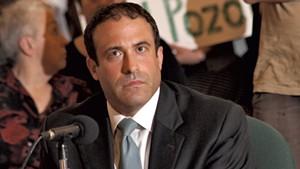 Brandon del Pozo at Monday's city council session