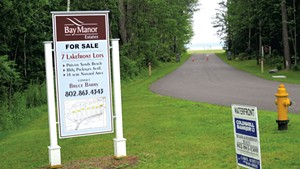 The former Camp Holy Cross lakefront property is for sale in Colchester