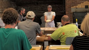 Bread-making workshop at Rise Up Bakery