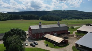Stuck in Vermont: Exploring Two Historic Barns in Richmond