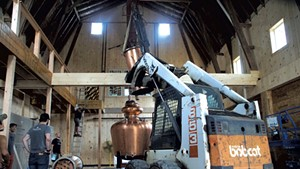 WhistlePig Prepares to Distill Onsite