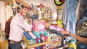 Jamie Two Coats' Toy Shop