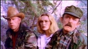 Rance Howard, Cathy Moriarty and John Astin in Runaway Daughters