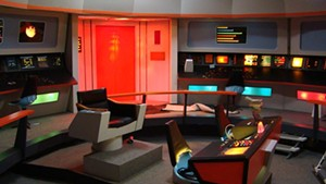 The bridge set on USS Enterprise