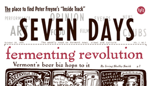Timeline: Seven Days Looks Back at 20 Years of Publishing in Vermont