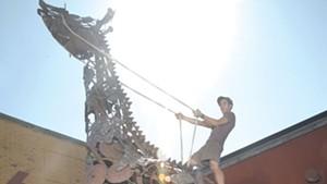 Talking Art With Sculptor Tyler Vendituoli