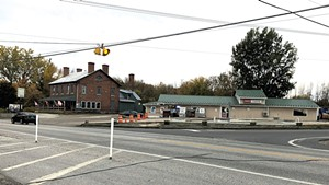 Intersection of Routes 2 and 314 in South Hero