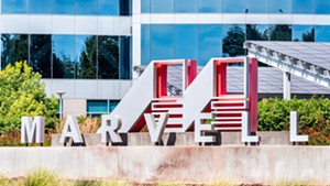The Marvell campus in Santa Clara, Calif.