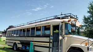 Marlboro College's Expedition Education Institute bus