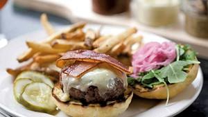Farmhouse Tap & Grill burger