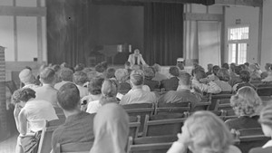 A Bread Loaf Writer's Conference lecture in 1951