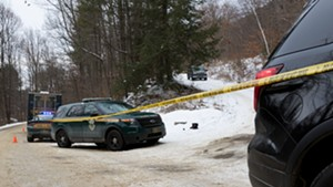 The scene of an officer-involved shooting in Bristol