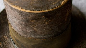 Abraham Lincoln's top hat, one of the Smithsonian's 101 historically important American objects