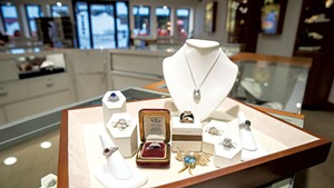 Display at Lippa's Estate and Fine Jewelry