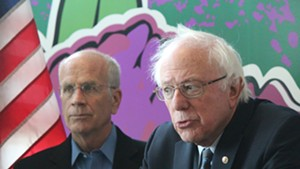 Rep. Peter Welch and Sen. Bernie Sanders