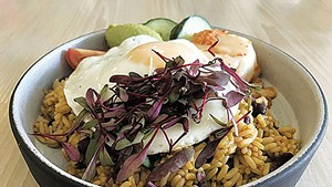 Rice bowl at Vergennes Laundry by CK
