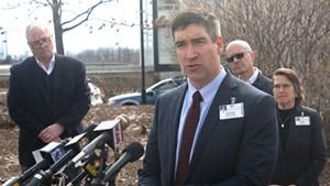 UVM Medical Center president Dr. Stephen Leffler