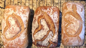 """Bread Fairy"" loaves ready for delivery"