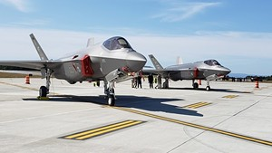 Two F-35s