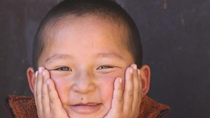 Five-year-old Rinpoche