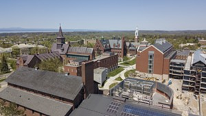 The University of Vermont campus