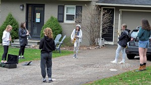 The driveway concert