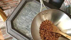 Roasty, toasty woodstove seeds