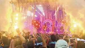 The Flaming Lips perform at Grand Point North in 2015
