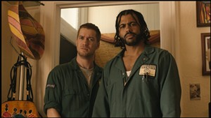 Rafael Casal and Daveed Diggs as childhood friends in Blindspotting