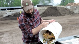 Isaac Colby of Some Dude's Composting Company