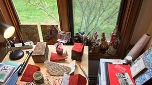 Wylie Garcia's studio