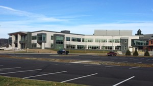 The new state office complex in Waterbury