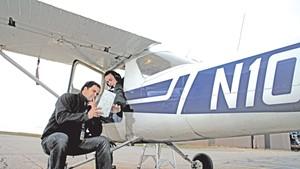 Flight instructor Ben Higgins