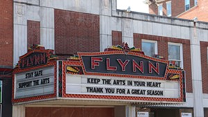 The Flynn marquee