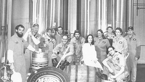 Magic Hat brew staff in the early 2000s